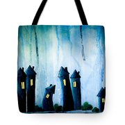 Night Owls Tote Bag by Nirdesha Munasinghe