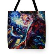 Night Tripper Tote Bag by Debra Hurd