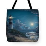 Night Watch Tote Bag by Kyle Wood