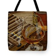 Nightcap Tote Bag by Cory Still