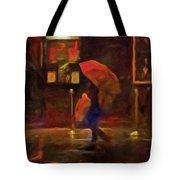 Nightlife Tote Bag by Michael Pickett