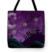Nighty Night Tote Bag by Juli Scalzi