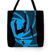 No024 My Dr No James Bond minimal movie poster Tote Bag by Chungkong Art