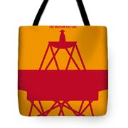 No081 My Star Trek 1 Minimal Movie Poster Tote Bag by Chungkong Art