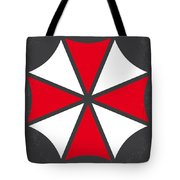 No119 My Resident Evil Minimal Movie Poster Tote Bag by Chungkong Art