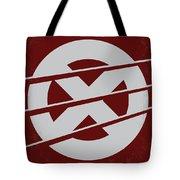 No123 My Xmen Minimal Movie Poster Tote Bag by Chungkong Art