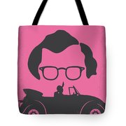 No147 My Annie Hall Minimal Movie Poster Tote Bag by Chungkong Art