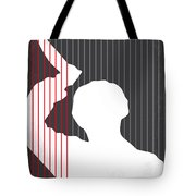 No185 My Psycho Minimal Movie Poster Tote Bag by Chungkong Art