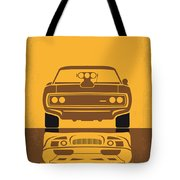 No207 My The Fast and the Furious minimal movie poster Tote Bag by Chungkong Art