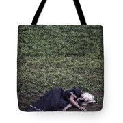Nobody Wants To Play With Me Tote Bag by Joana Kruse