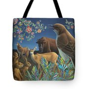 Nocturnal Cantata Tote Bag by James W Johnson