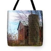 Non Working Barn Property Tote Bag by Tina M Wenger