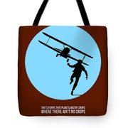 North By Northwest Poster 2 Tote Bag by Naxart Studio