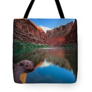North Canyon Number 1 Tote Bag by Inge Johnsson