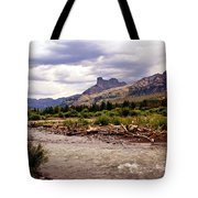 North of Dubois 3 Tote Bag by Marty Koch