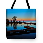 Northern Lights Tote Bag by Frozen in Time Fine Art Photography