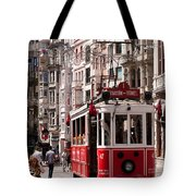 Nostalgic Tram 01 Tote Bag by Rick Piper Photography