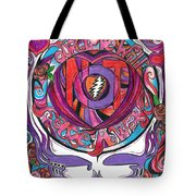 Not Fade Away Tote Bag by Kevin J Cooper Artwork