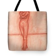 Nude 9 Tote Bag by Patrick J Murphy