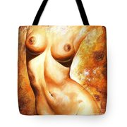 Nude Details Tote Bag by Emerico Imre Toth
