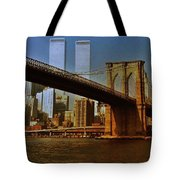 Nyc 1976 Tote Bag by Benjamin Yeager