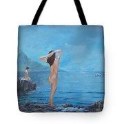 Nymphs Tote Bag by Sinisa Saratlic