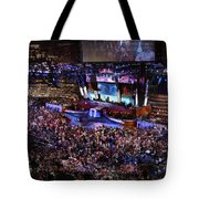 Obama And Biden At 2008 Convention Tote Bag by Stephen Farley