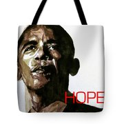 Obama Hope Tote Bag by Paul Lovering