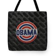Obama Tote Bag by Rob Hans