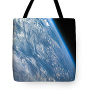 Oblique Shot Of Earth Tote Bag by Adam Romanowicz