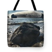 Ocean Boulder Tote Bag by Adam Jewell