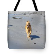 Ocean Run Tote Bag by Elizabeth Dow