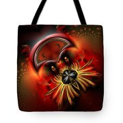 Ocf 199 Fido In Abstract Tote Bag by Claude McCoy