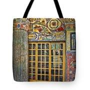 October At Fonthill Castle Tote Bag by Susan Candelario