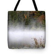 October Frost Landscape Tote Bag by Christina Rollo
