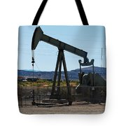 Oil Well  Pumper Tote Bag by Dany Lison