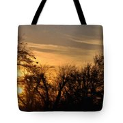 Oklahoma Sunset Tote Bag by Jeff Kolker