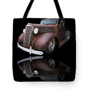 Old Chevy Tote Bag by Debra and Dave Vanderlaan
