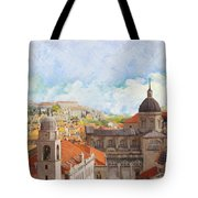 Old City Of Dubrovnik Tote Bag by Catf