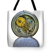 Old Clock Tote Bag by Michal Boubin
