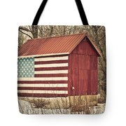 Old Country America Tote Bag by Trish Tritz