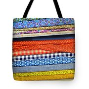 Old Country Store Fabrics Tote Bag by Christine Till