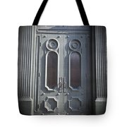 Old Doorway Quebec City Tote Bag by Edward Fielding