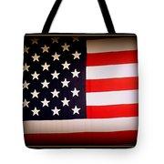 Old Glory Tote Bag by Ernie Echols