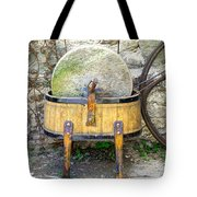 Old grindstone Tote Bag by Ivan Slosar