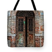 Old Italian Doorway Tote Bag by Mountain Dreams