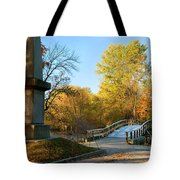 Old North Bridge Tote Bag by Brian Jannsen