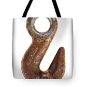 old rusty hook Tote Bag by Michal Boubin
