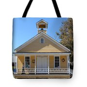 Old Sacramento California Schoolhouse 5D25544 Tote Bag by Wingsdomain Art and Photography