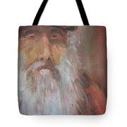 Old Salt Christo At 80 Tote Bag by Susan Richardson